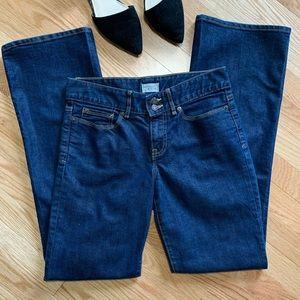 Gap Essential Bootcut Dark Wash Jeans 4/27
